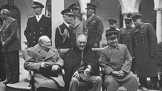 Big Three Meet At Yalta Eastern Front Key Moments Ww2history