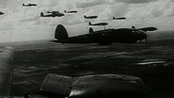 German bombers en route to Poland